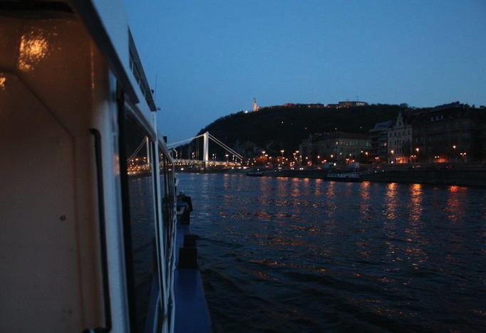 Budapest Danube cruise dinner