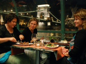 Dinner on Danube Cruise Budapest Legenda Boat